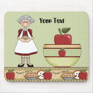 Tapis De Souris Le tarte Mousepad de la grand-maman