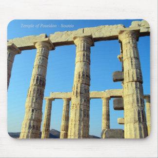 Tapis De Souris Le temple de Poseidon dans Sounio