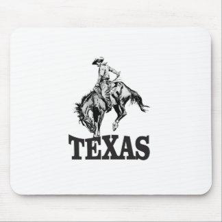 Tapis De Souris Le Texas noir