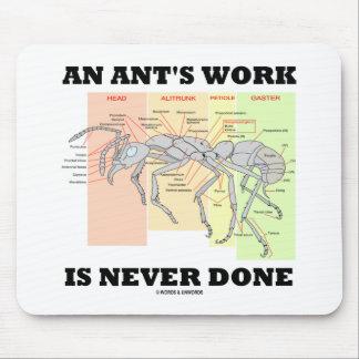 Tapis De Souris Le travail d'une fourmi n'est jamais effectué