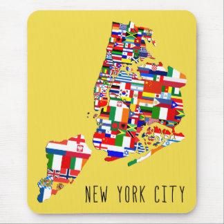 Tapis De Souris Le voisinage d'ascendance de New York City marque