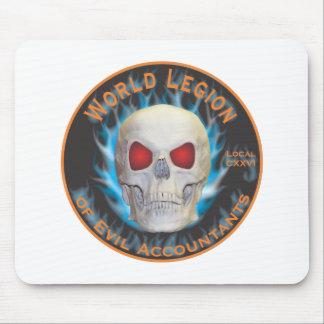Tapis De Souris Légion du monde de comptables mauvais