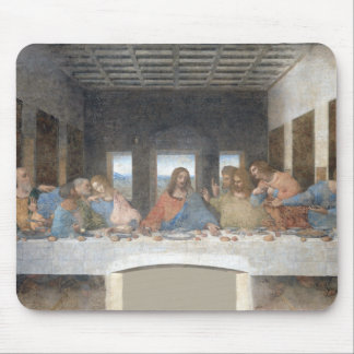 Tapis De Souris Leonardo da Vinci iconique le dernier dîner