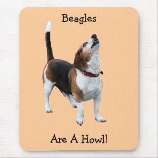 Tapis De Souris Les beagles sont un chien drôle Mousepad