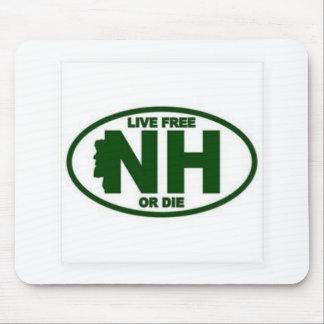 Tapis De Souris Les honoraires vivants du New Hampshire ou meurent