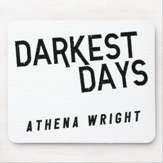 Tapis De Souris Les jours les plus foncés par blanc d'Athéna