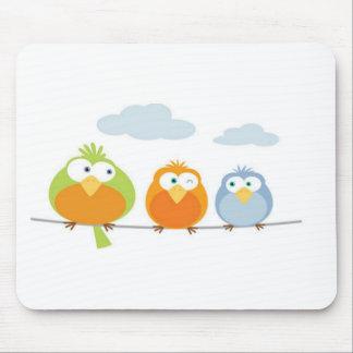 Tapis De Souris Les trois Petits oiseaux/Tree little birds