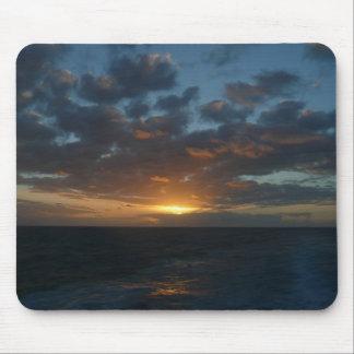 Tapis De Souris Lever de soleil à la photographie de paysage marin
