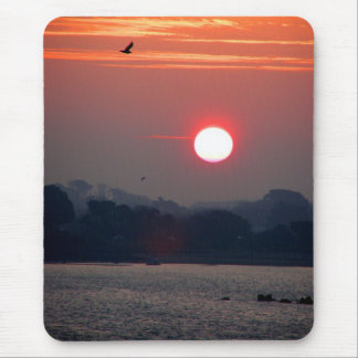 Tapis De Souris Lever de soleil dans Guernesey