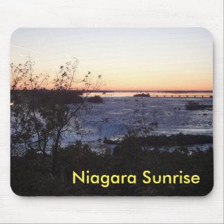 Tapis De Souris Lever de soleil Mousmat de Niagara