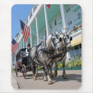 Tapis De Souris L'hôtel grand - île de Mackinac, Michigan