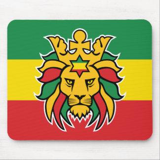 Tapis De Souris Lion de Rastafari de Judah