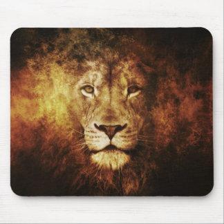 Tapis De Souris Lion of Judah - Haile eux Rastafari Mouse tampon
