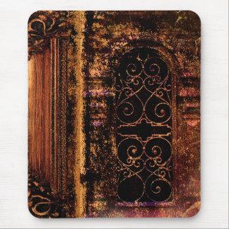 Tapis De Souris Livre en cuir médiéval de tome antique rustique