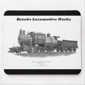 Tapis De Souris Locomotive de Camelback de ruisseaux, chemin de