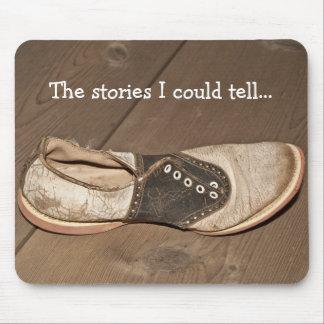 Tapis de souris Long-Abandonné de chaussure de sel