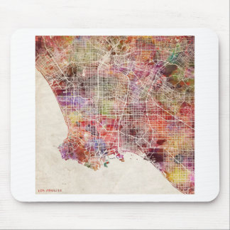 Tapis De Souris Los Angeles map