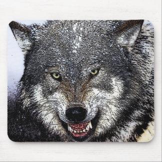 Tapis De Souris Loup sauvage
