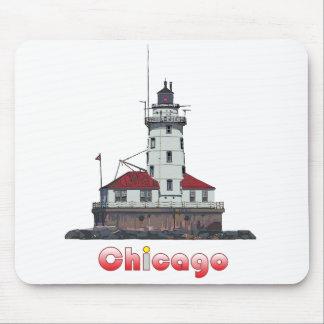 Tapis De Souris Lumière de port de Chicago