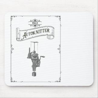 Tapis De Souris Machine circulaire antique d'Autoknitter