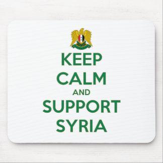 TAPIS DE SOURIS MAINTENEZ CALME ET APPUI SYRIE