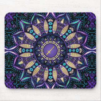 Tapis De Souris Mandala de Sagittaire de signe de zodiaque
