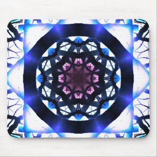 Tapis De Souris Mandala vibrant de lumière d'étoile