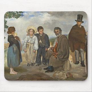 Tapis De Souris Manet | le vieux musicien, 1862