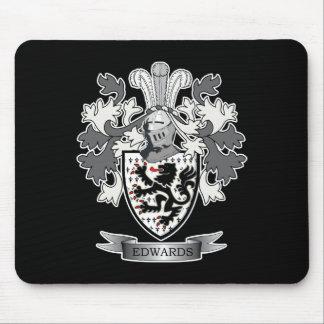 Tapis De Souris Manteau de crête de famille d'Edwards des bras