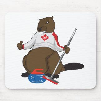 Tapis De Souris Marchandises de bordage de castor du Canada 150 en