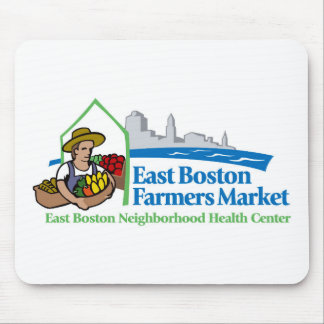 Tapis De Souris Marché est d'agriculteurs de Boston