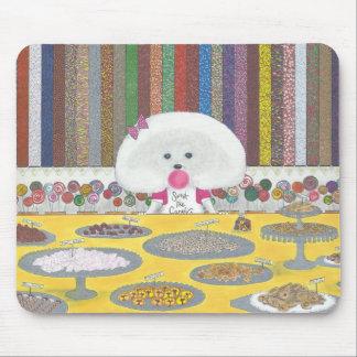 Tapis De Souris Marie, le Bichon Frise Mousepad