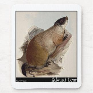 Tapis De Souris Marmot d'Edward Lear
