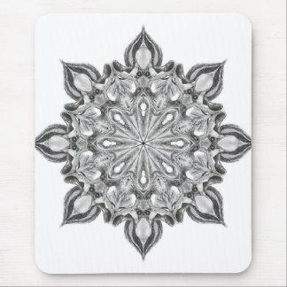 Tapis De Souris Médaillon étranger de hibou de gris d'Illuminati