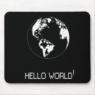 Tapis De Souris Message classique Hello World