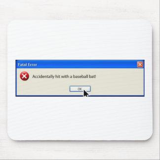 Tapis De Souris Message d'erreur drôle de Windows