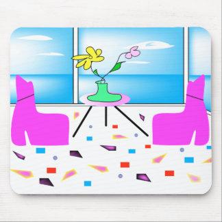 Tapis De Souris Miami coloré lunatique génial, graphique