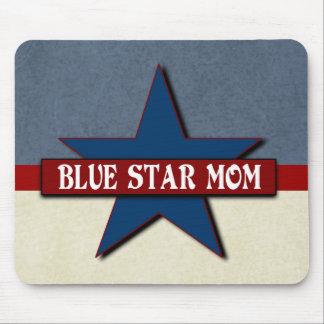 Tapis De Souris Militaires de maman d'étoile bleue