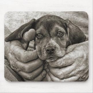 Tapis De Souris Mon art photographique de chiot de beagle d'ami