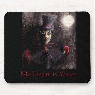"""Tapis De Souris """"Mon coeur est à vous"""" Mousepad"""