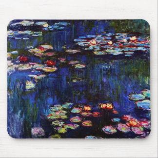 Tapis De Souris Monet-Eau-Lis de Claude