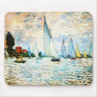 Tapis De Souris Monet-Régate de Claude à Argenteuil
