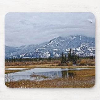 Tapis De Souris Montagnes dans la distance
