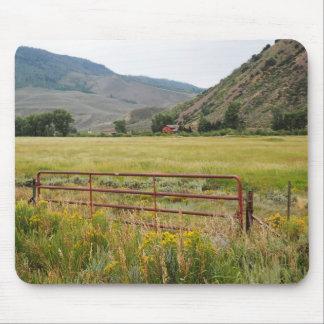 Tapis De Souris montagnes rocailleuses dans le Colorado central