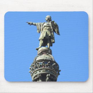 Tapis De Souris Monument de Columbus de Barcelone