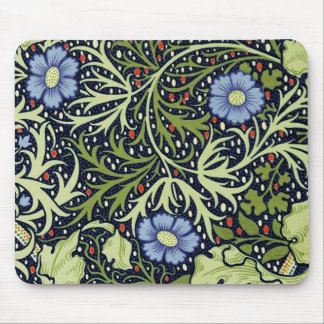 Tapis De Souris Motif de papier peint d'algue de William Morris
