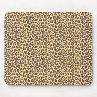 Tapis De Souris Motif de peau d'animal d'empreinte de léopard