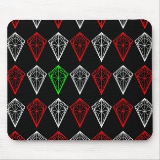 Tapis De Souris Motif géométrique de diamants