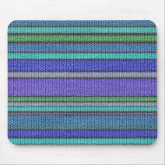 Tapis De Souris Motif sans couture de tricotage coloré 2 de