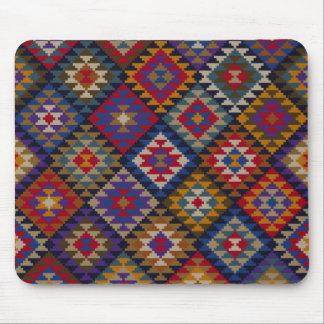 Tapis De Souris Motif tricoté géométrique d'édredon